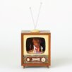 Roman, Inc. Rotating Musical Halloween TV Figurine