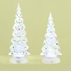 <strong>Roman, Inc.</strong> 2 Piece Saint LED Confetti Tree Figurine