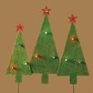 <strong>Roman, Inc.</strong> Tree Stakes Yard Set Christmas Decoration