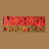 <strong>Roman, Inc.</strong> Lighted Merry Christmas Sign Stake Christmas Decoration