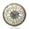"Ashton Sutton 23"" Louvre Large Wall Clock"