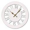 """Ashton Sutton 11"""" Quartz Analog Wall Clock"""