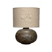"Jamie Young Company Caisson 23"" H Table Lamp with Drum Shade"