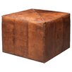 Jamie Young Company Large Leather Ottoman