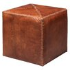 Jamie Young Company Small Leather Ottoman