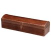 Jamie Young Company Tobacco Leather Chester Box