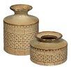 Jamie Young Company 2 Piece Astral Vase Set