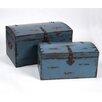 Wilco 2 Piece Storage Box (Set of 2)