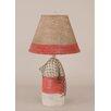 """Coast Lamp Mfg. Coastal Living Small Buoy 22"""" H Table Lamp with Empire Shade"""