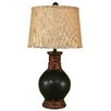 "Coast Lamp Mfg. Casual Living Round Pot 30.5"" H Table Lamp with Drum Shade"