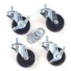 Virco Swivel Casters (Pack of 4)