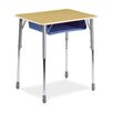 <strong>Zuma Plastic Rectangular Desk</strong> by Virco