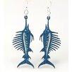 Green Tree Jewelry Swordfish Earrings