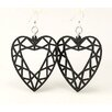 <strong>Guarded Heart Earrings</strong> by Green Tree Jewelry