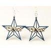 Green Tree Jewelry Texas Star Earrings