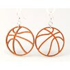 <strong>Basketball Earrings</strong> by Green Tree Jewelry