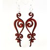 <strong>Green Tree Jewelry</strong> Iron Loops Earrings