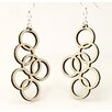 <strong>Green Tree Jewelry</strong> Interlocking Circles Earrings