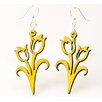 <strong>Green Tree Jewelry</strong> Tulips Earrings