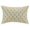D.L. Rhein Delphinium Embroidered Decorative Pillow
