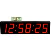 "Big Time Clocks Large 5"" Digit LED with Remote Control Clock"