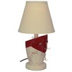 """Santa's Workshop Fishing Lure 18"""" H Table Lamp with Empire Shade"""