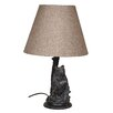 """Santa's Workshop Seated Bear 24.5"""" H Table Lamp with Empire Shade"""