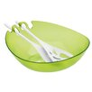 Koziol Shadow Salad Bowl with Servers