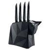 Koziol 5 Piece Pablo Steak Knife Set with Block
