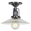 <strong>JVI Designs</strong> Union Square 1 Light Semi Flush Mount
