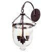 JVI Designs 3 Light Bell Jar Wall Sconce