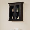 <strong>Elegant Home Fashions</strong> Madison Avenue Dark Wall Cabinet with Two Doors