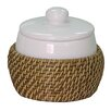 <strong>Hana Cotton Jar</strong> by Elegant Home Fashions