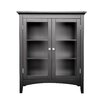 "Elegant Home Fashions Madison Avenue Dark 26"" x 32"" Free Standing Cabinet"