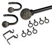 <strong>Coast Curtain Rod and Hardware Set (12 Piece)</strong> by Elegant Home Fashions