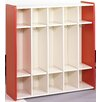 <strong>1000 Series 5 Cubbie Preschool Locker</strong> by TotMate