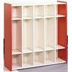TotMate 1000 Series 5-Section Cubbie Preschool Locker