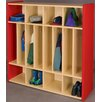 TotMate 2000 Series 8-Section Cubbie Spacesaver Locker