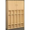 TotMate 2000 Series 5-Section Student Storage Locker