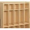 TotMate 2000 Series 16-Section Cubbie Toddler Locker