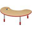 "TotMate 48"" x 24"" Kidney Classroom Table"