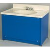 <strong>1000 Series Single Bowl Floor Vanity</strong> by TotMate
