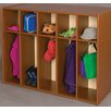 TotMate Vos System 5 Section Single Sided Toddler Locker