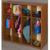 TotMate Vos System 4 Section Single Sided Toddler Locker