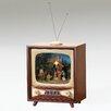 Fontanini Musical LED Nativity TV Plays Silent Night Figurine