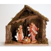 Fontanini 3 Piece Figurine Set with Italian Stable