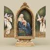 Joseph's Studio Sitting Madonna and Child Triptych