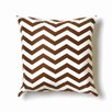 Twinkle Living ZigZag Pillow in Brown