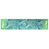 Rightside Design I Sea Life Paisley Printed and Applique Seahorse Runner