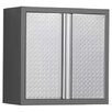 "<strong>NewAge Products</strong> Pro Diamond Plate 34.5"" H x 28"" W x 14"" D Wall Cabinet"